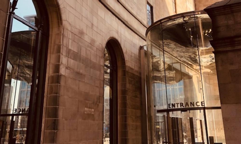DM Town Hall Entrance