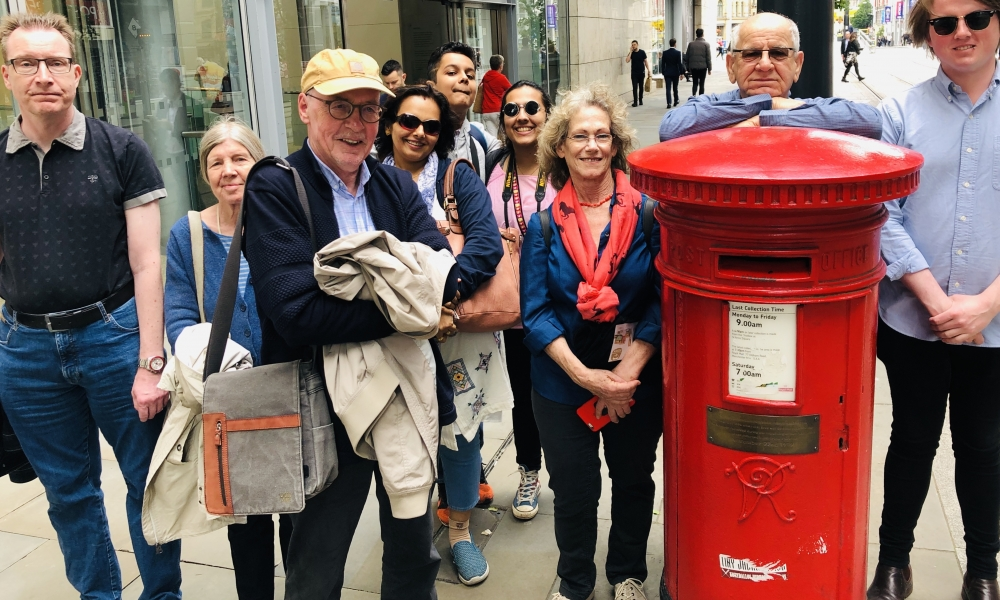 DM Postbox Crowd